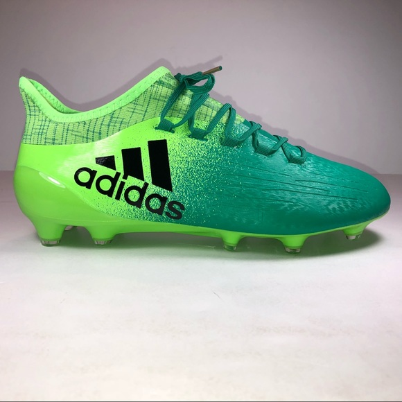 5d12f5f2c7d0 Adidas X 16.1 Firm Ground Solar Green Soccer Cleat